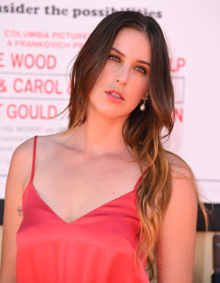 Scout Willis at the premiere of