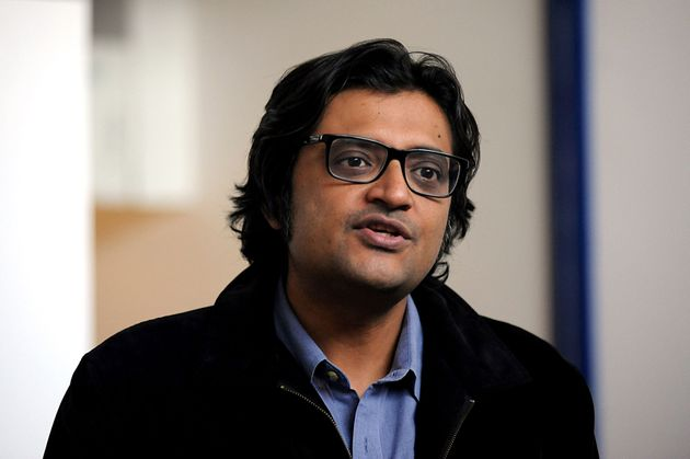 Arnab Goswami in a file