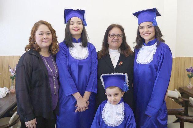 ブラジル人学校「エスコーラ・ネクター」の子どもたち