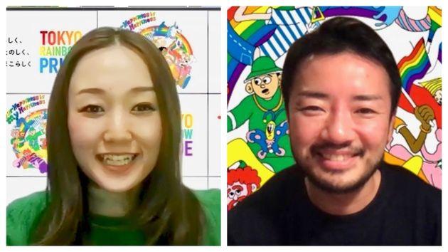 初のオンライン開催について話してくれた、山田さんと杉山さん