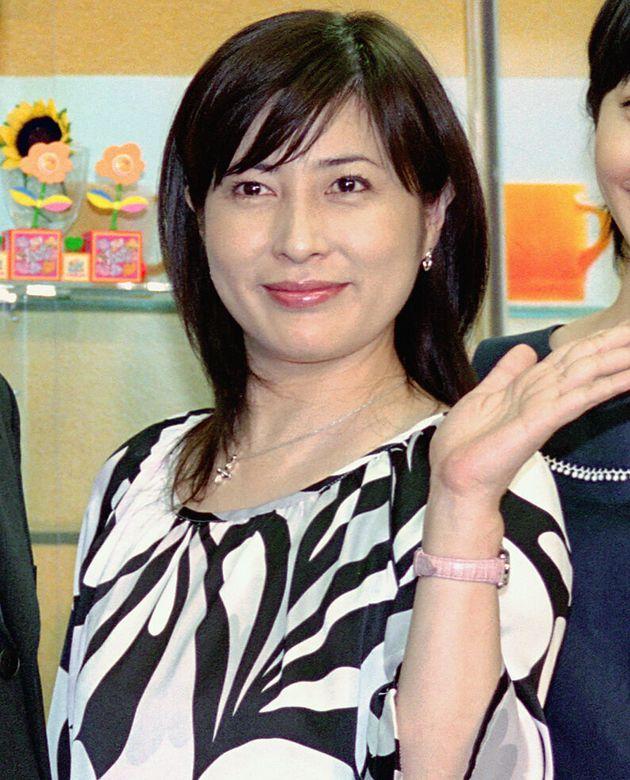 岡江久美子さん(2004年撮影)