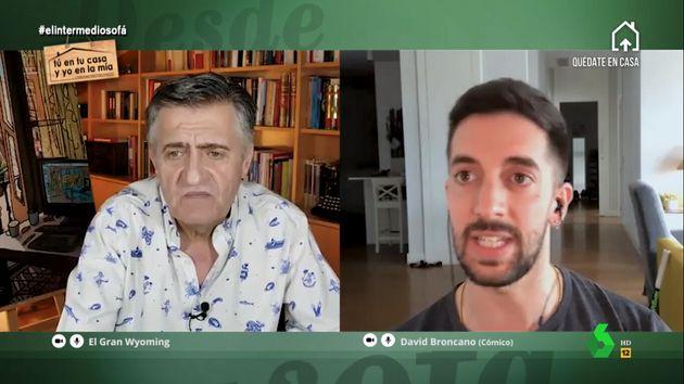 El cómico David Broncano en 'El