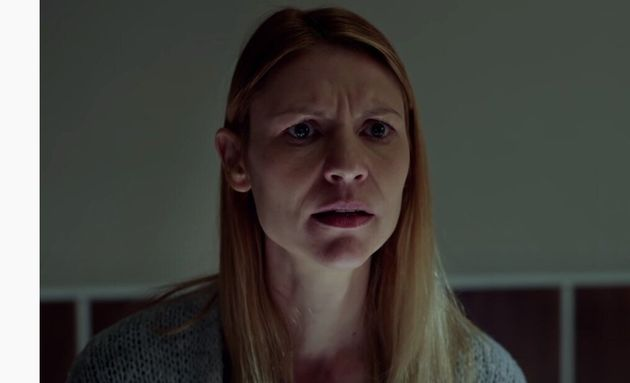 Η Κλερ Ντέινς ως Κάρι Μάθισον στην σειρά του Showtime,