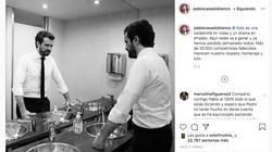 Revuelo en Twitter por lo que hace Pablo Casado en esta foto en Instagram: se ve a simple