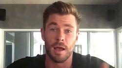 Chris Hemsworth Makes Alarming Find In His Helmet During