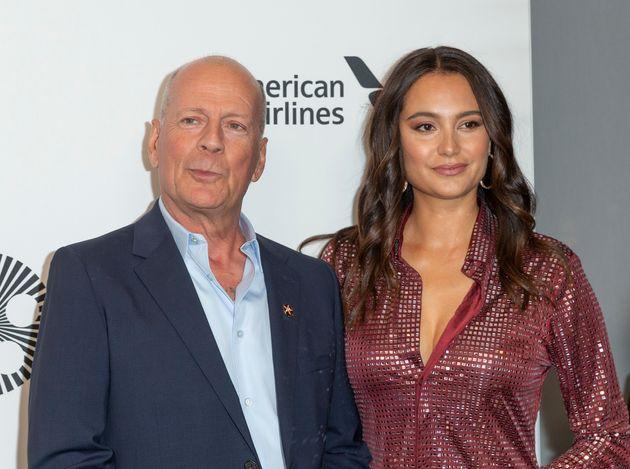 Bruce Willis et son épouse des 11 dernières années Emma