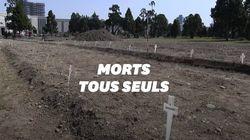 Comment les corps des victimes du Covid-19 non réclamés sont enterrés près de