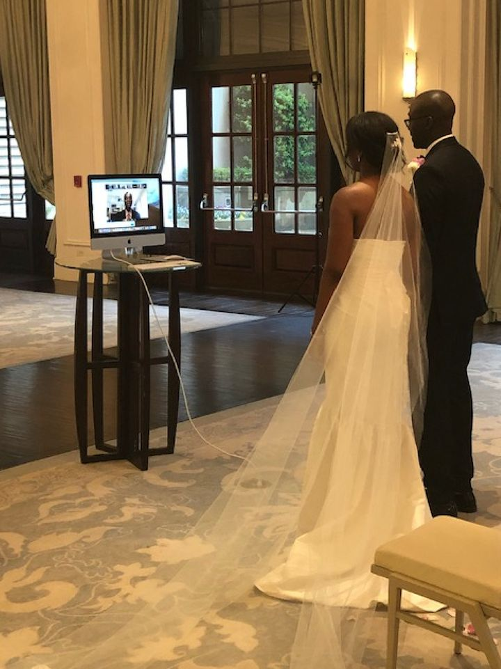 Yemi and Fisayo got married on April 19 in Atlanta.