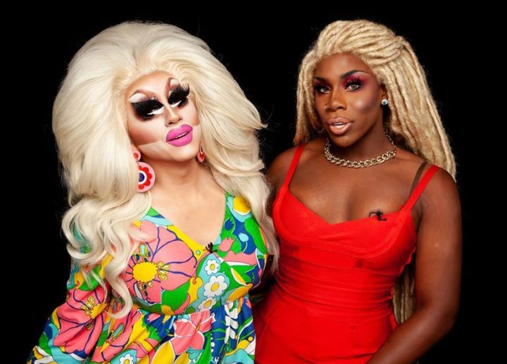 "Trixie Mattel and Monét X Change on the ""X Change Rate."""