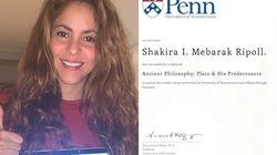 Este diploma da Shakira é o incentivo que você precisava para começar algo novo na