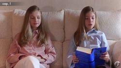 Leonor y Sofía insisten con la fórmula infalible para todas sus apariciones