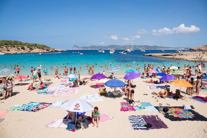 Cala Bassa (Ibiza), en agosto de 2018.
