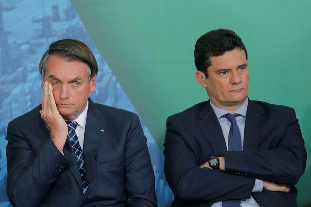 Mais um capítulo de divergências entre Jair Bolsonaro e Sergio Moro pode levar à...