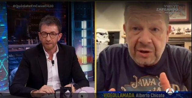 Pablo Motos y Alberto