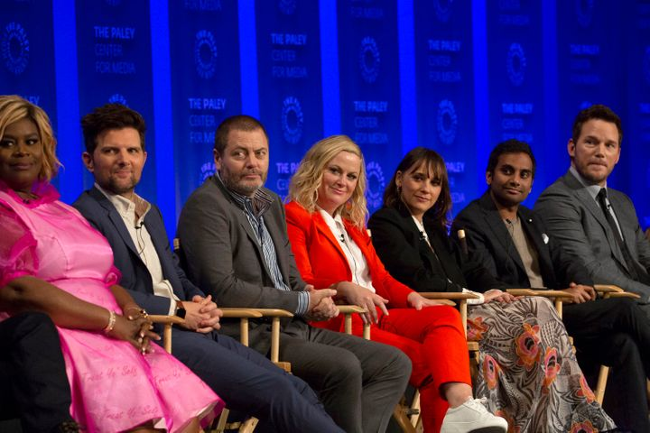 """The cast of """"Parks and Recreation"""" will reunite for a half-hour special next Thursday."""