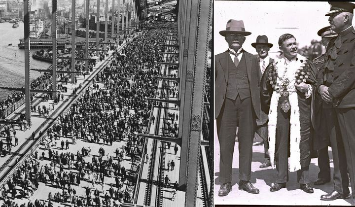 The mayor of Sydney before the opening of the Sydney Harbour Bridge.SMH Picture by STAFF (Photo by Fairfax Media via Getty Images/Fairfax Media via Getty Images via Getty Images)