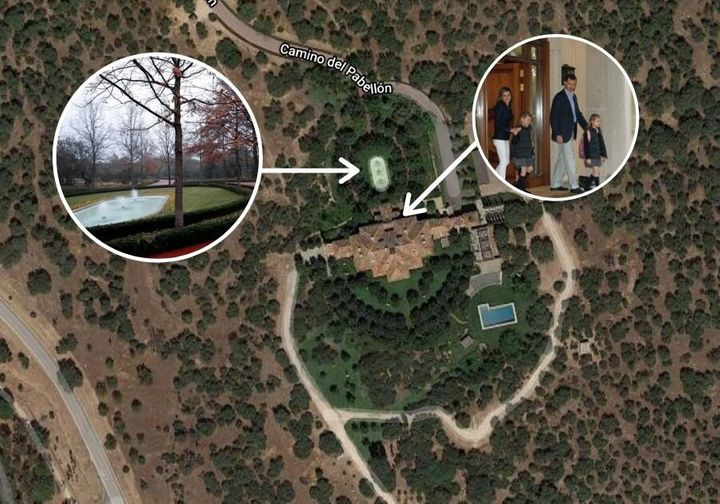 Vista área del Pabellón del Príncipe