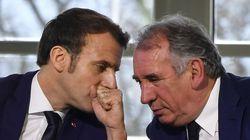Bayrou vole au secours de Macron après un