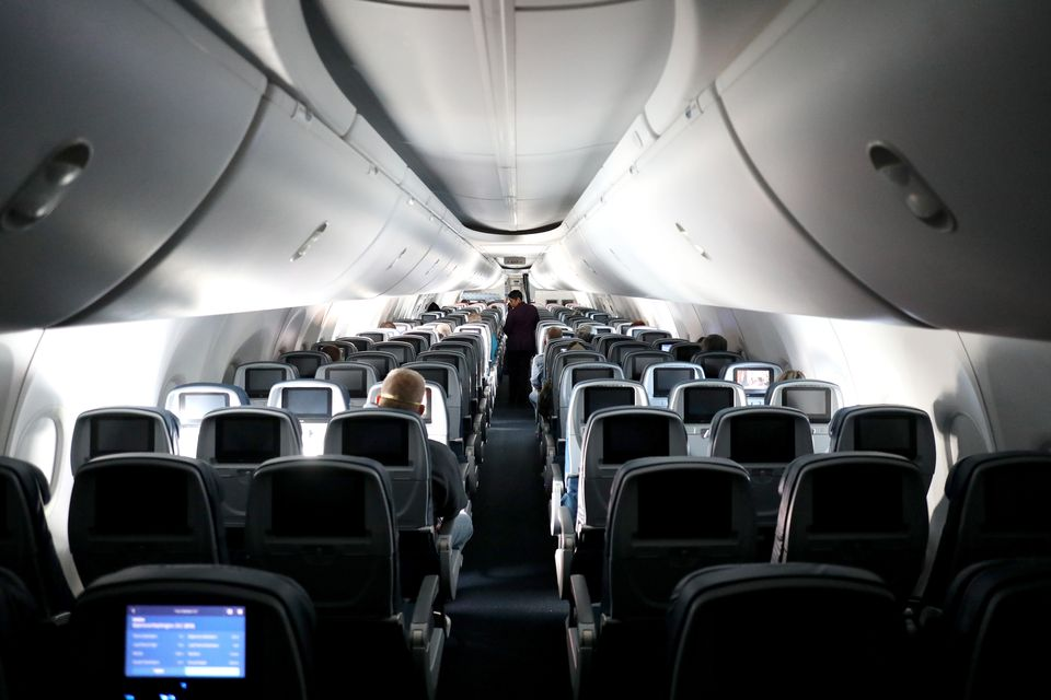 A Delta Airlines flight on April 20, 2020.Delta Airlines CEO Ed Bastian said this week that airlines...