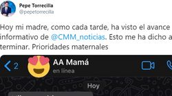 Un presentador de informativos comparte el mensaje de WhatsApp que le envió su madre al verlo en