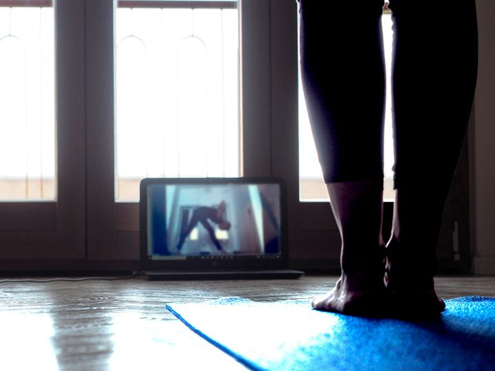 Sarah Kenien, one of our audience editors, said doing yoga with her friends in the morning helps kick-start her day.
