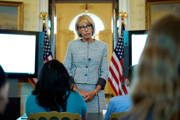 Secretary of Education Betsy DeVos is expected to make a recommendation to Congress regarding potential temporary IDEA w