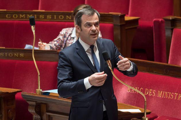 Olivier Véran, ici à l'Assemblée nationale le 21 avril
