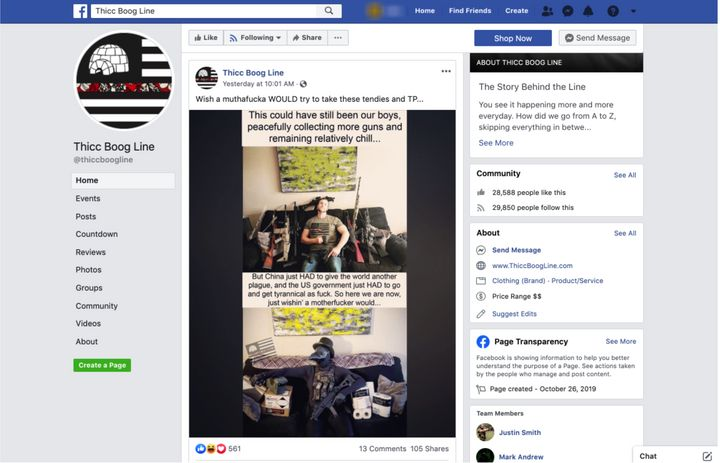 "There are 125 anti-government extremist groups on Facebook devoted to the ""boogaloo,"" a far-right term for what they believe"