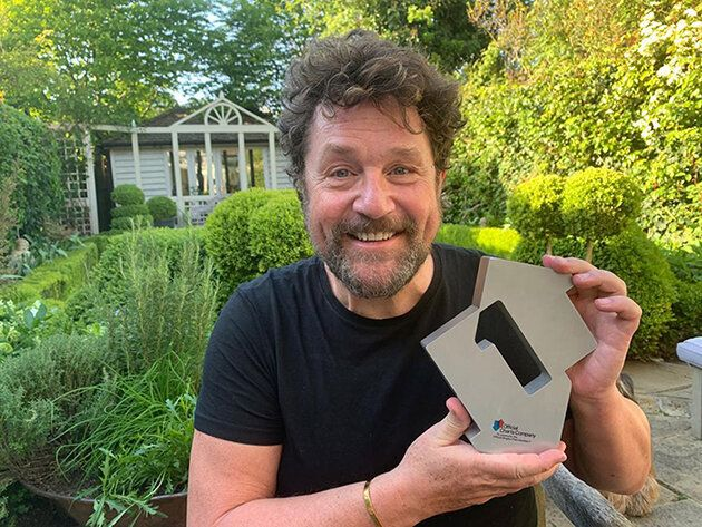 Michael Ball debuted with Captain Tom Moore and The NHS Voices Of Care Choir on You'll Never Walk