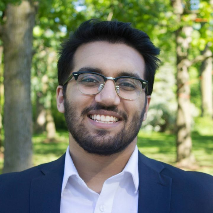 Mahad Shahzad founded Chatting to Wellness, a team of volunteers who visit or call seniors.