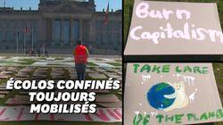 La solution des jeunes écolos allemands pour manifester pendant le