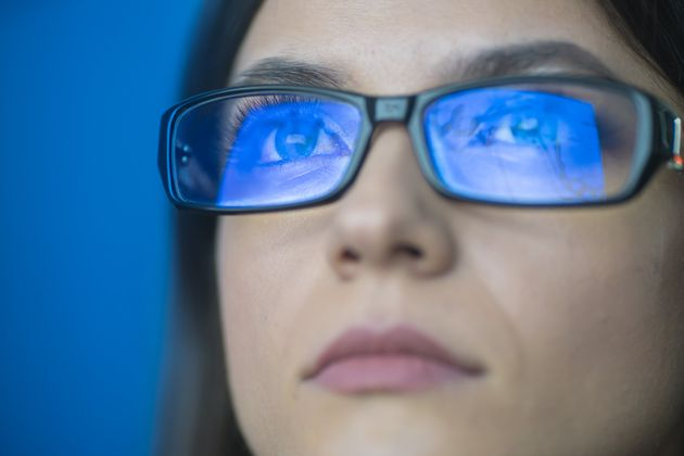 Blue light-blocking glasses can protect your eyes from the effects of blue light.