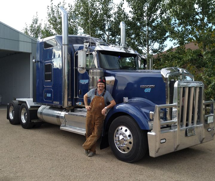 Saskatoon trucker Keith Geisler says his income has dropped 65 to 70 per cent since mid-March.