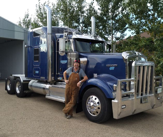 Saskatoon trucker Keith Geisler says his income has dropped 65 to 70 per cent since