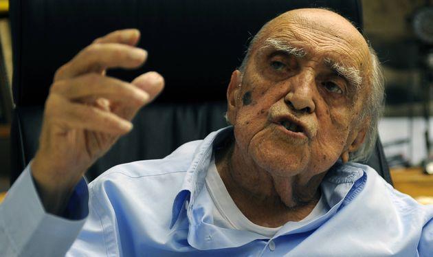 Oscar Niemeyer, en una imagen de