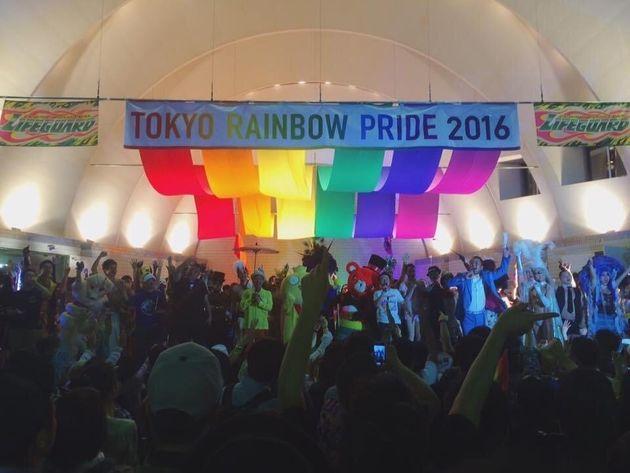 初めてボランティアスタッフとして関わった「TOKYO RAINBOW PRIDE