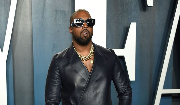 Kanye West arrives at the Vanity Fair Oscar Party on Sunday, Feb. 9, 2020, in Beverly Hills, Calif. (Photo...