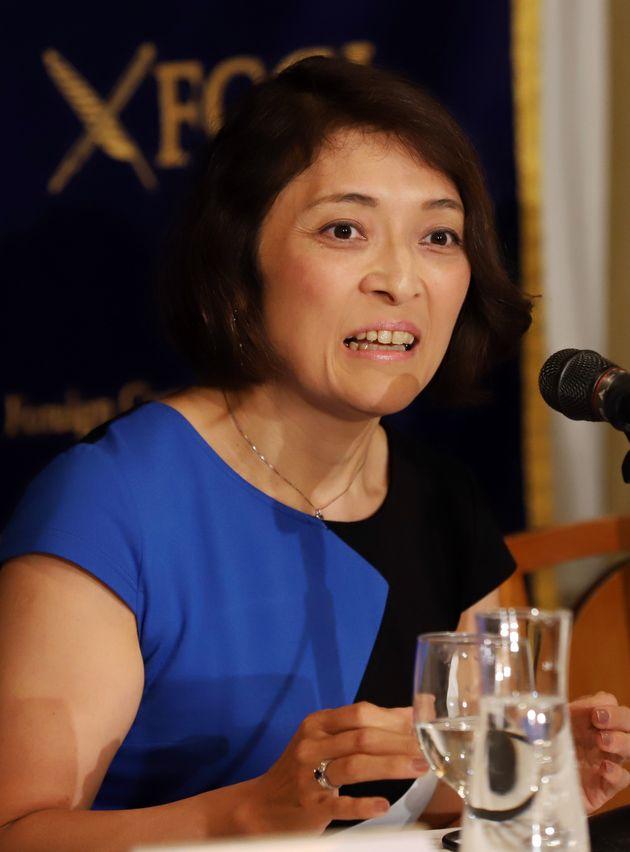 勝間和代さん(2018年9月)