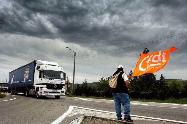 La CFDT appelle les routiers à se mettre en grève le 7
