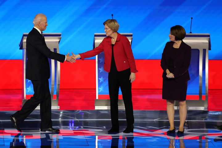 Both Massachusetts Sen. Elizabeth Warren and Minnesota Sen. Amy Klobuchar are on Democratic nominee Joe Biden's list of