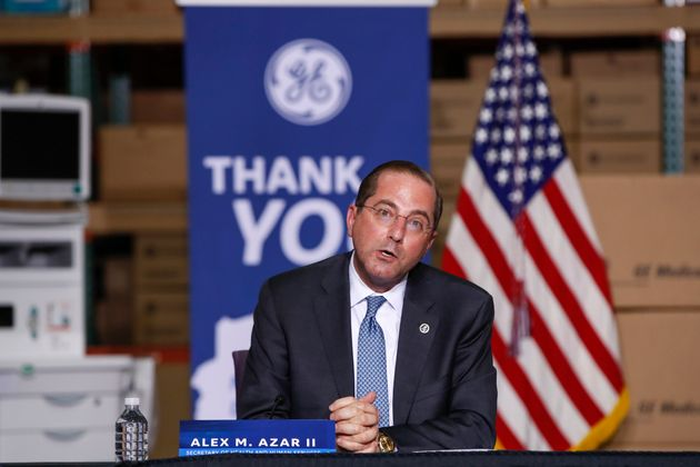 White House Discussing Plans To Replace Hhs Sec Alex Azar Reports Huffpost