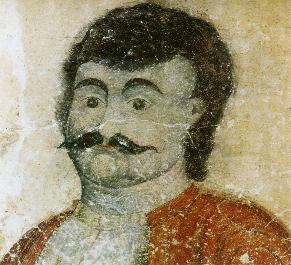 Ο Ρήγας του Χιοναδίτη ζωγράφου Θανάση