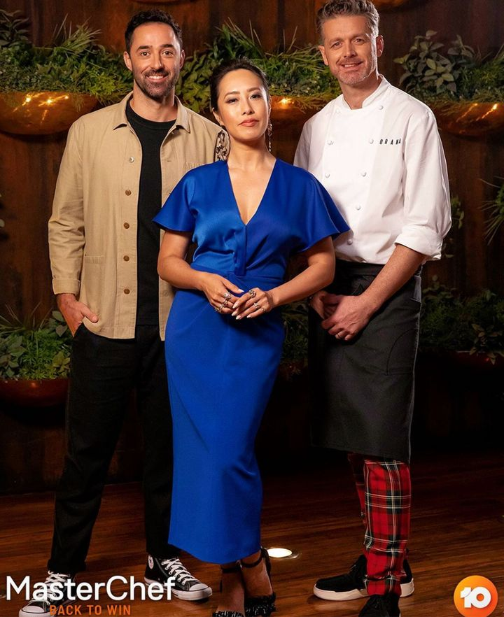 MasterChef Australia: Back To Win judges Andy Allen, Melissa Leong and Jock Zonfrillo