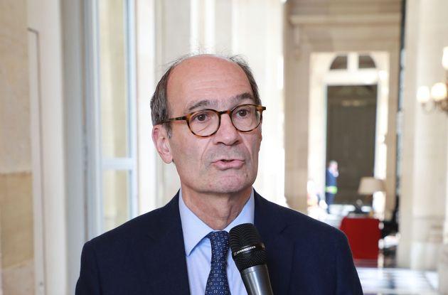 Éric Woerth ici à l'Assemblée nationale le 19 mars