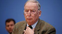 El partido ultraderechista alemán AfD cesa a su portavoz parlamentario por simpatizar con el
