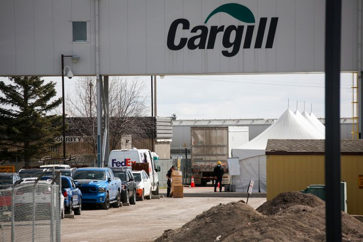 Cargill announced a temporary shut down of its beef plant near High River where officials in the area are dealing with over 400 cases of COVID-19 linked to the plant, including the death of a worker, in High River, Alta., on Thursday.