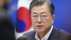 문재인 대통령 지지율 6주 연속 상승...