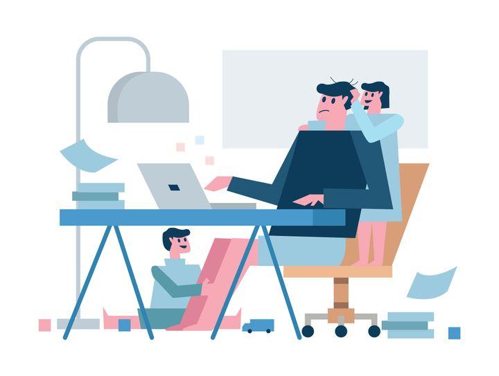 アメリカでの調査では、多くの親が、自宅での育児に幾らかの困難を感じているという。