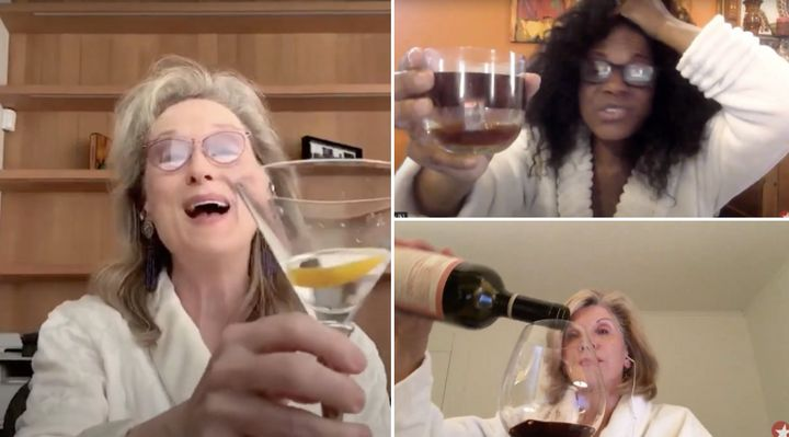 Meryl Streep, Audra McDonald and Christine Baranski