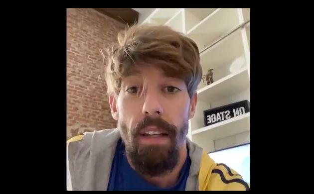 El actor Adrián
